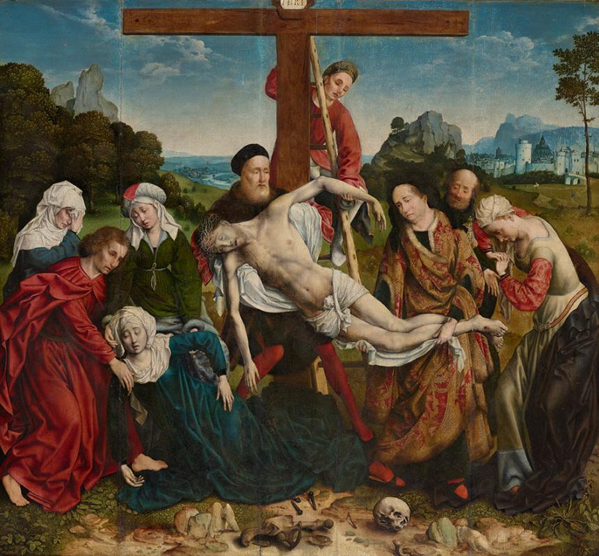 Йос ван Клеве. Снятие с креста