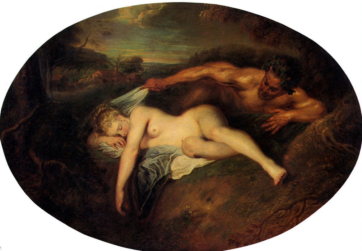 Антуан Ватто. Юпитер и Антиопа