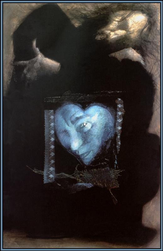 Дэйв Маккин. Синее сердце