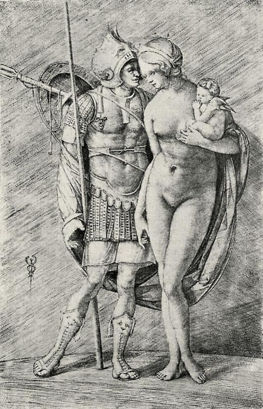 Якопо де Барбари. Марс и Венера