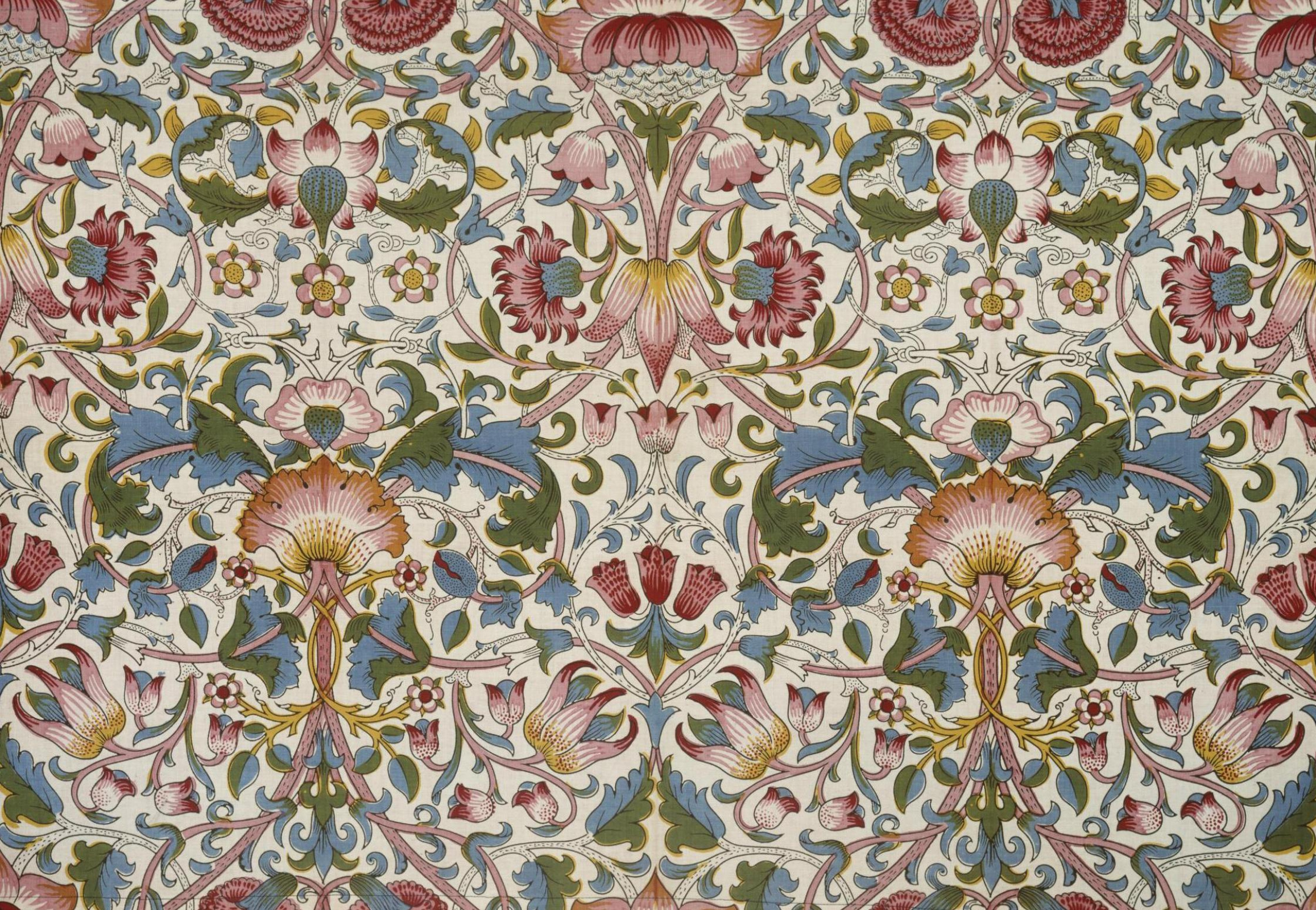 William Morris.  Fourrés de fleurs