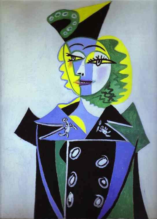Пабло Пикассо. Портрет Нуши Элюар