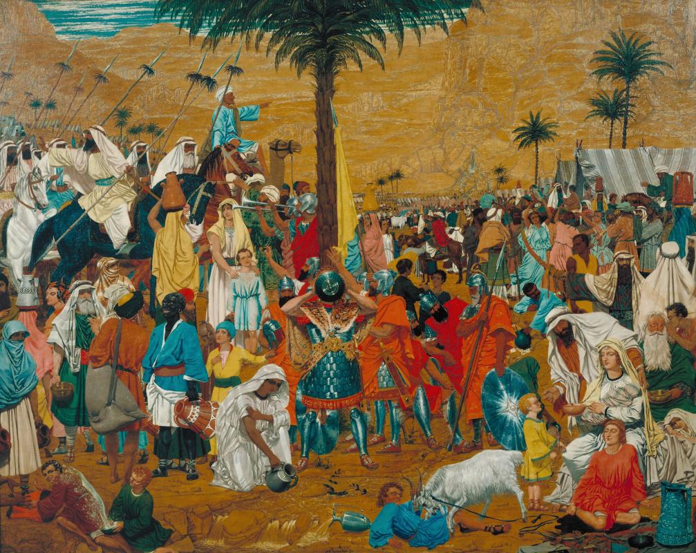 Ричард Дадд. Бегство из Египта