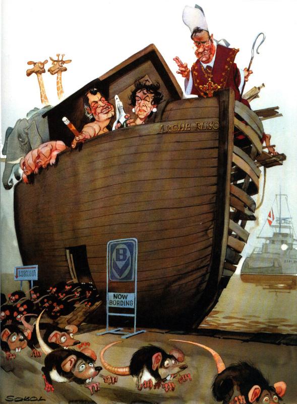 Джон Луркер. Крысы бегут с корабля