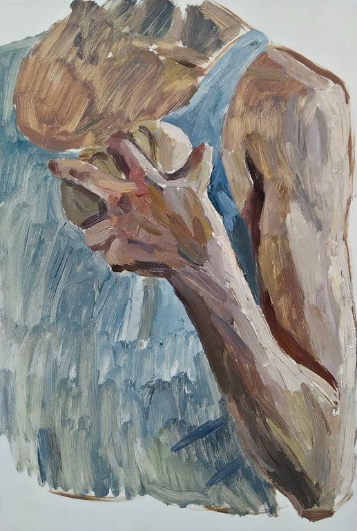 Orest Georgievich Betekhtin. Figure sketch