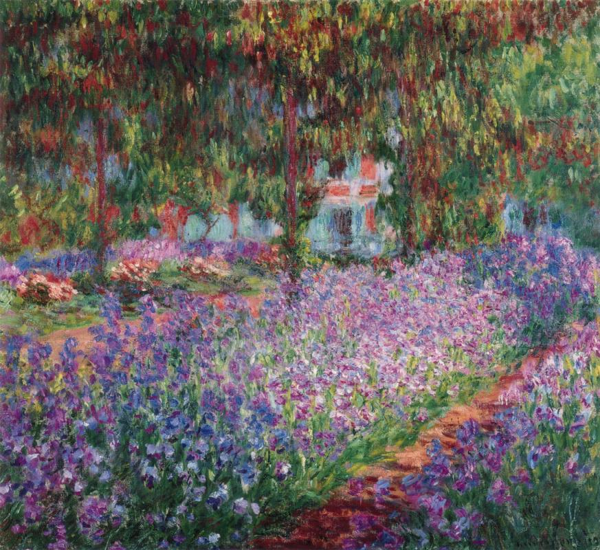 Клод Моне. Сад художника в Живерни