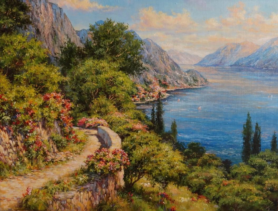 Irina Nikolaevna Borisova. Mountain trail.