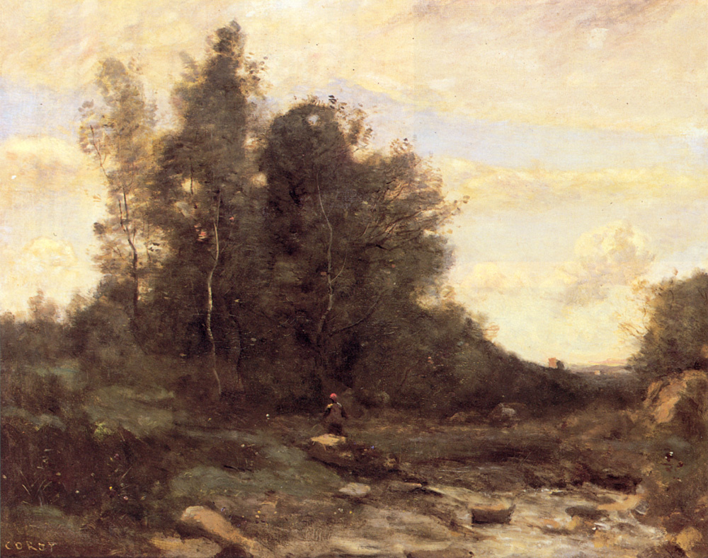 Камиль Коро. В лесу