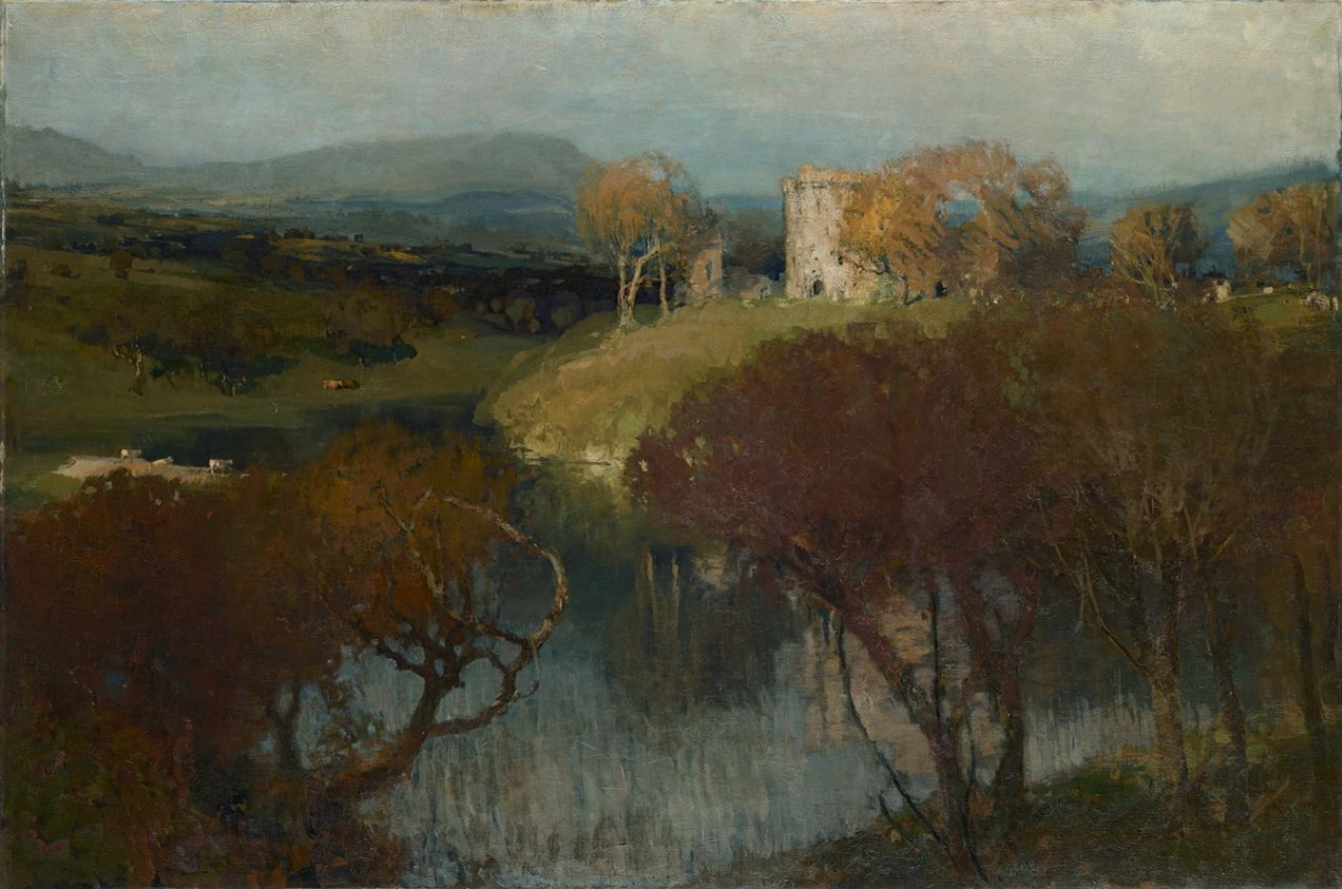 James Paterson. Morton Castle in Scotland (Enchanted Castle)