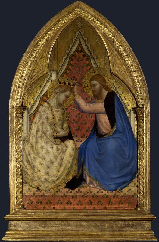 Бернардо Дадди. Коронация Девы Марии