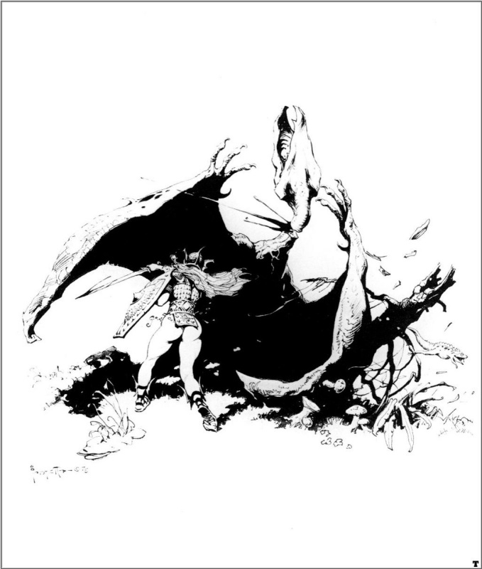 Frank Frazetta. The Lord of the rings