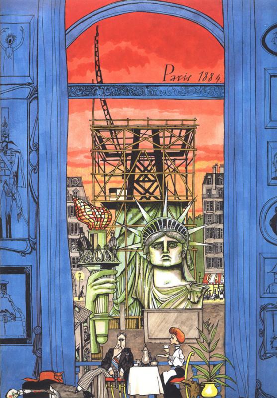 Уильям Раштон. Статуя свободы