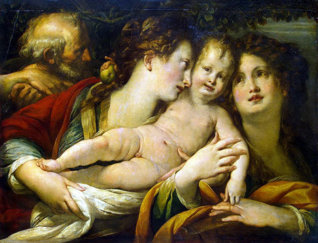 Джулио Чезаре Прокаччини. Святое Семейство