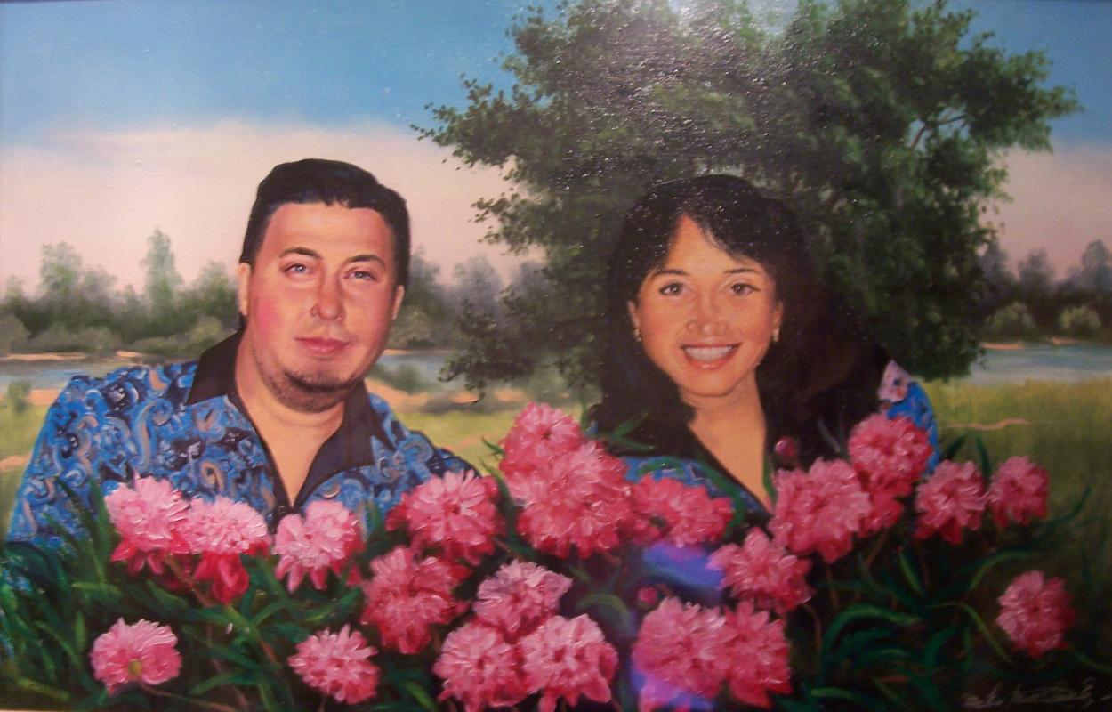 Alexander Vladimirovich Alymov. Family portrait to order