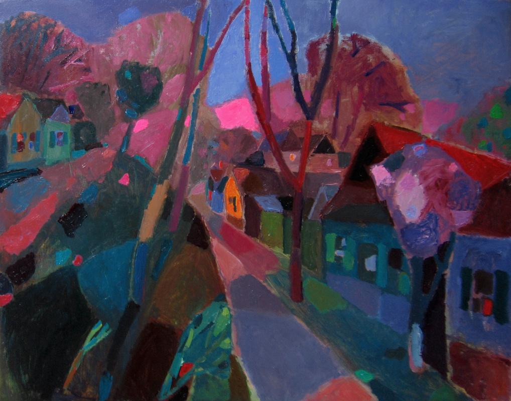 Elena Valeryevna Shipilova. Evening smell of lilac