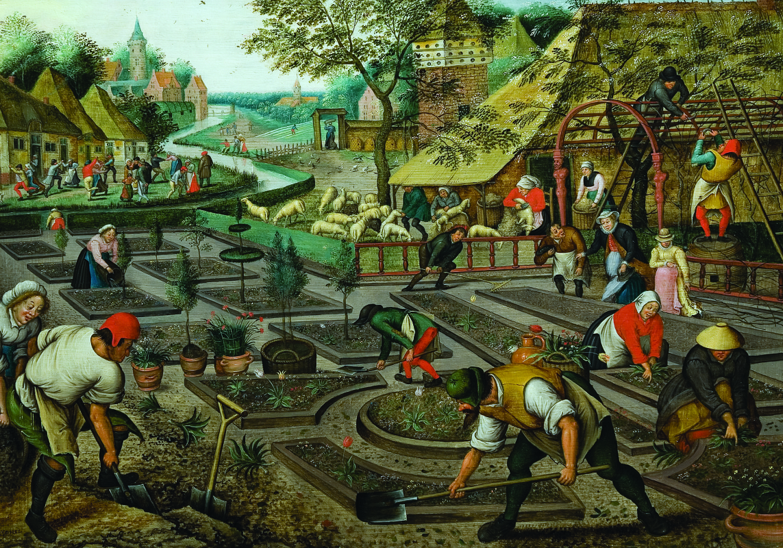Peter Brueghel the Younger. Four seasons. Spring