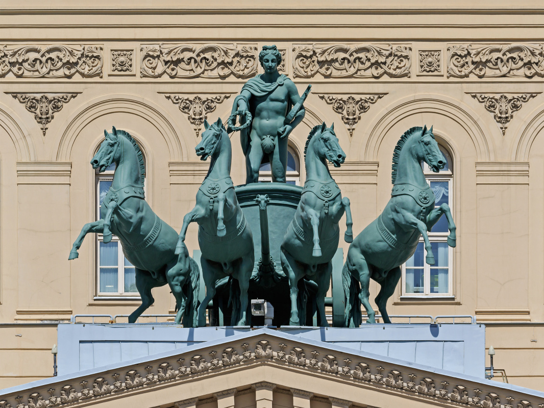 Peter Karlovich Klodt von Jurgensburg. Quadriga of the Bolshoi Theater