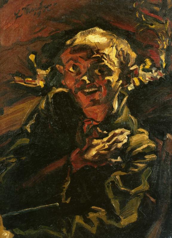 Людвиг Майднер. Автопортрет