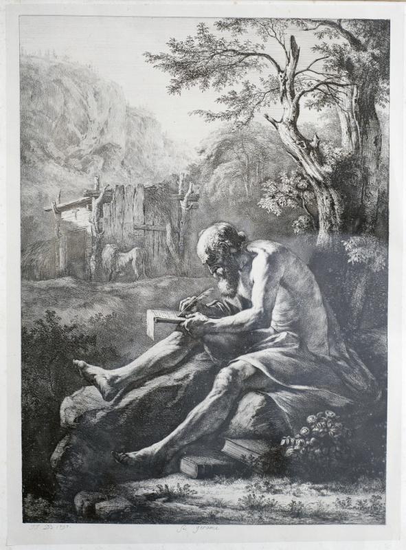 Жан-Жак де Буассье. Святой Иероним