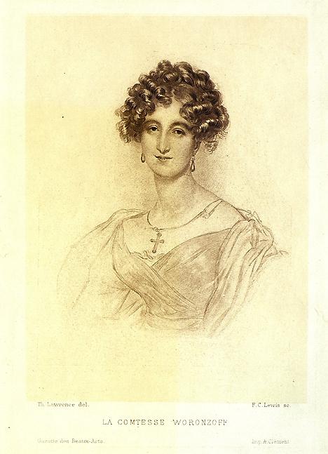 Портрет княгини Елизаветы Ксаверьевны Воронцовой