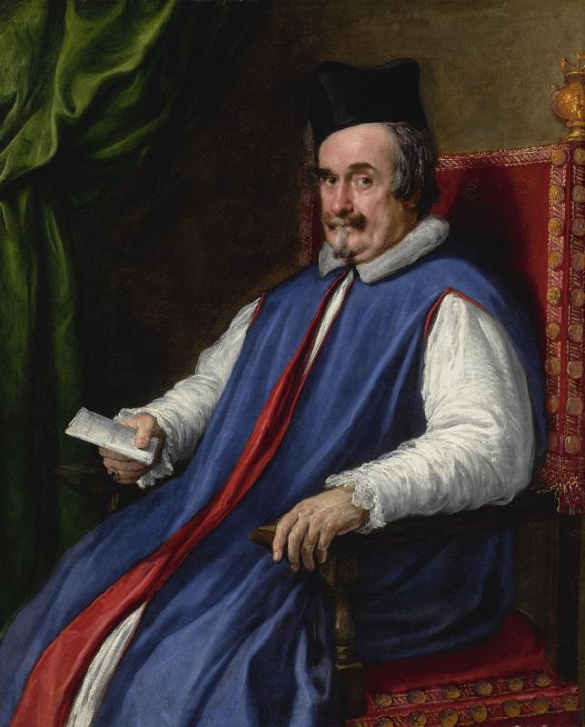 Диего Веласкес. Портрет монсеньора Кристофоро Сеньи, мажордома Папы Иннокентия X