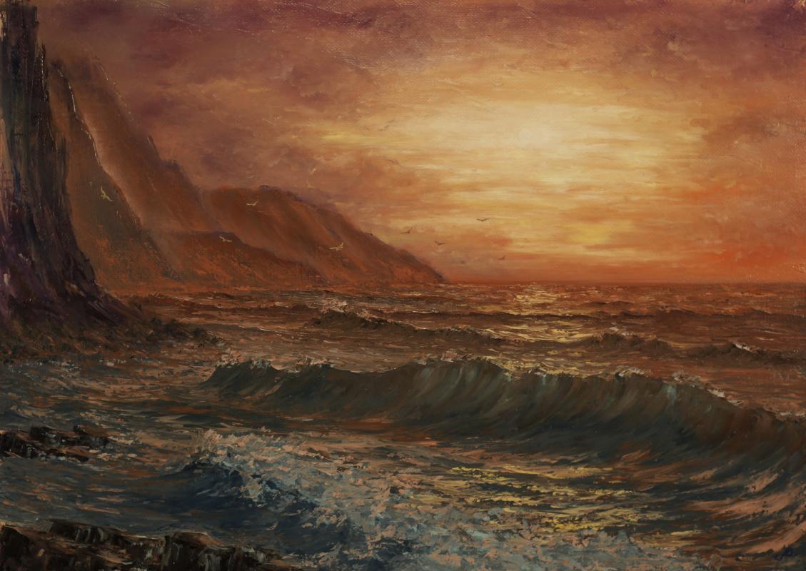Valery Levchenko. No. Red Sea