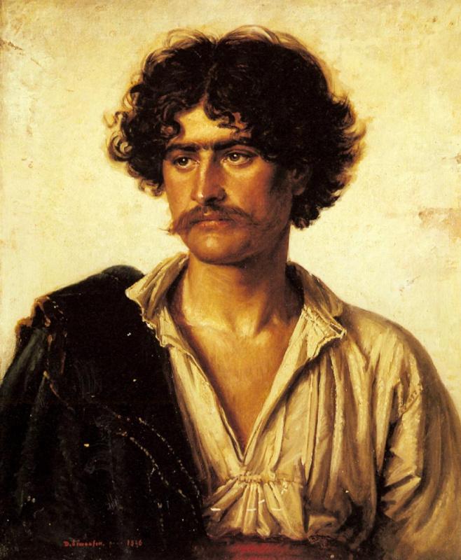 Дэвид Симонсон. Портрет мужчины