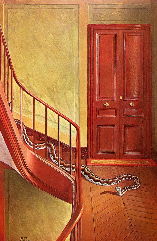 Пьер Рой. Опасность на лестнице