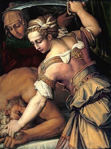 Джорджо Вазари. Юдифь и Олоферн, Джорджо Вазари, 1554
