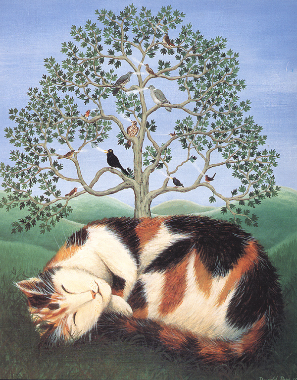 DeRold Page. Cat's dream
