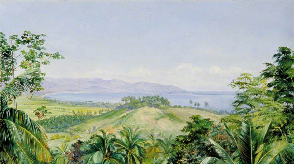 Marianna North. Spring Landscape, Jamaica
