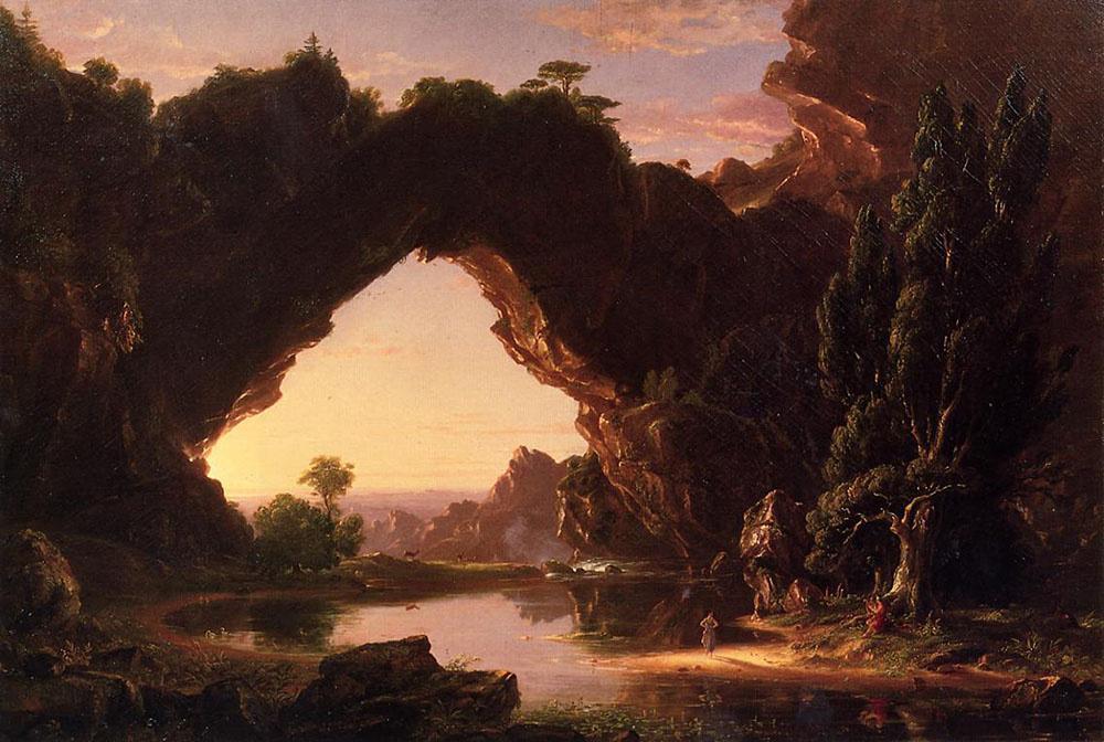 Thomas Cole. Evening in Arcadia