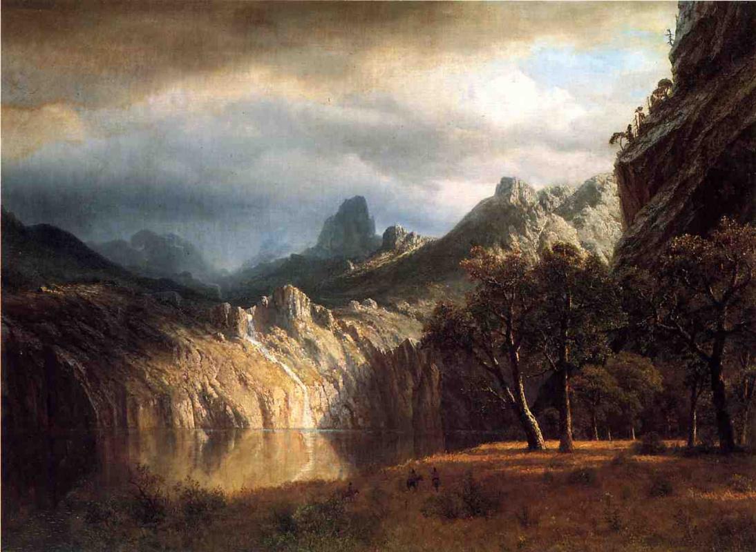 Альберт Бирштадт. В горах