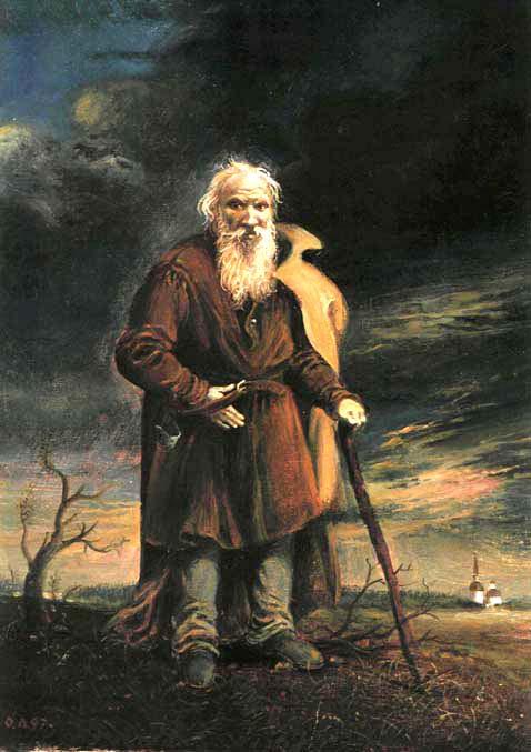 Oleg Litvinov. Портрет Л.Н. Толстого