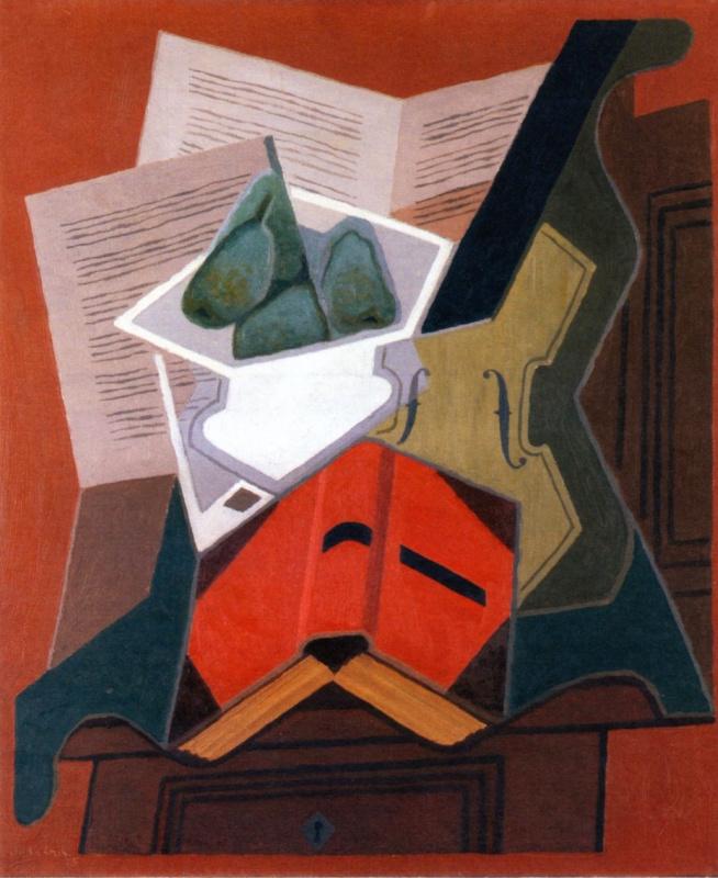 Хуан Грис. Красная книга