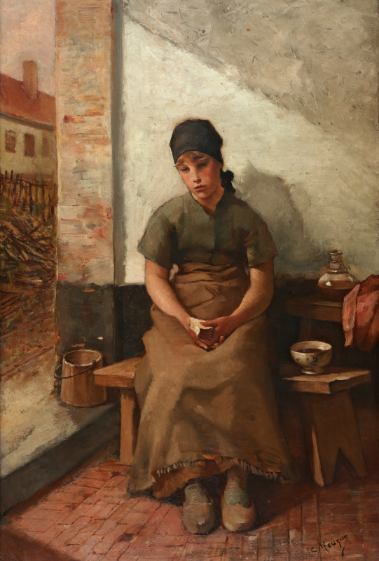 Konstantin Meunier. Breakfast maids