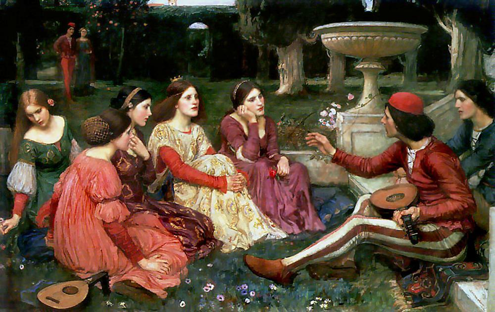 John William Waterhouse. The Decameron