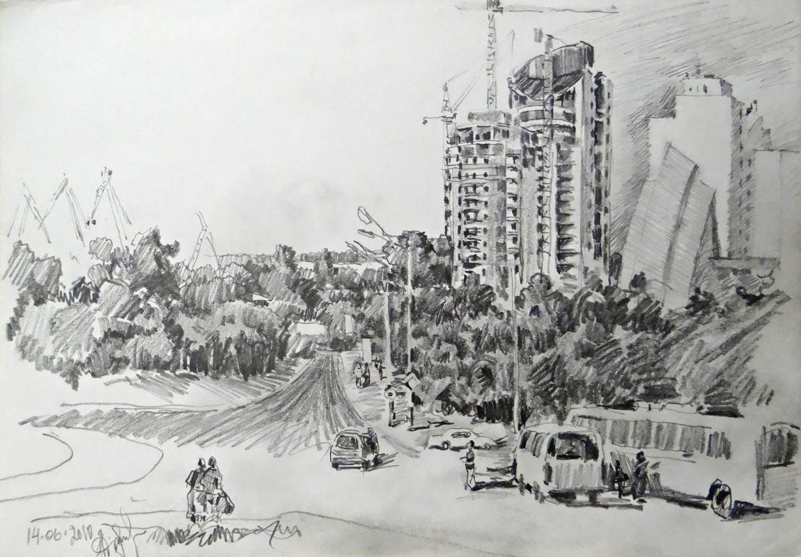 Alexey Alekseevich Drilev. The city is being built