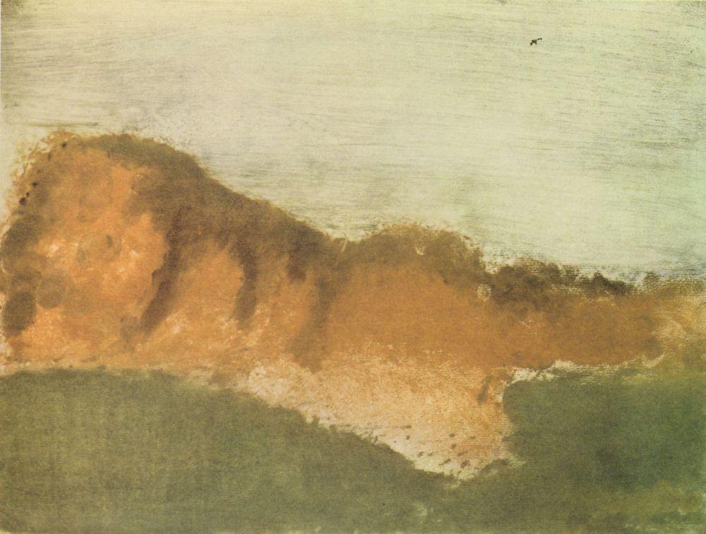 Edgar Degas. Cape Horny near Saint-Valery-sur-Somme