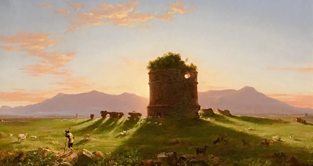 Thomas Cole. Ruins in Campagna di Roma, the morning