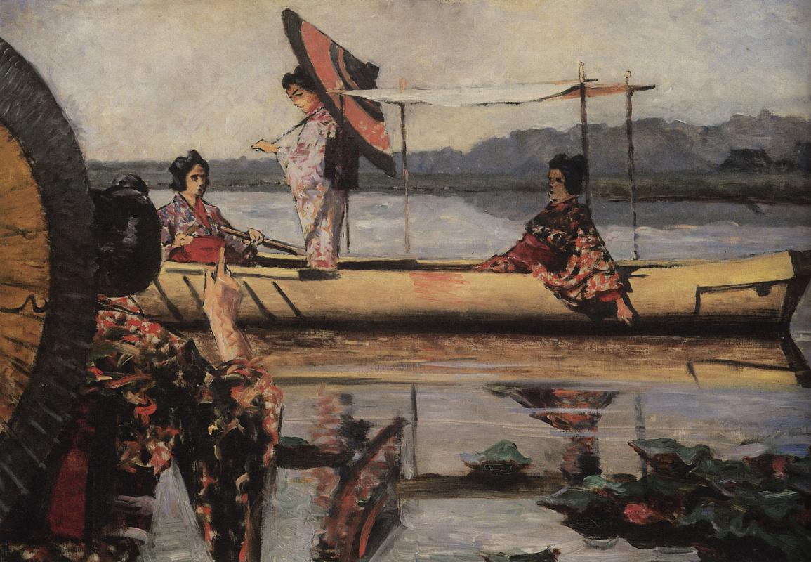 Vasily Vereshchagin. The boat ride
