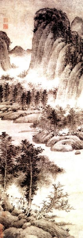 Джин Ру Цянь. Пейзаж 053