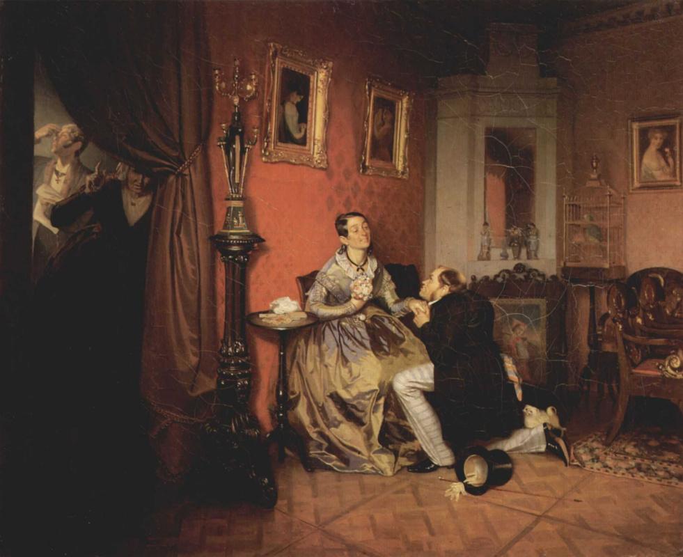Павел Андреевич Федотов. Разборчивая невеста