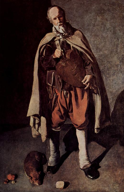 Жорж де Латур. Гирондист с собакой