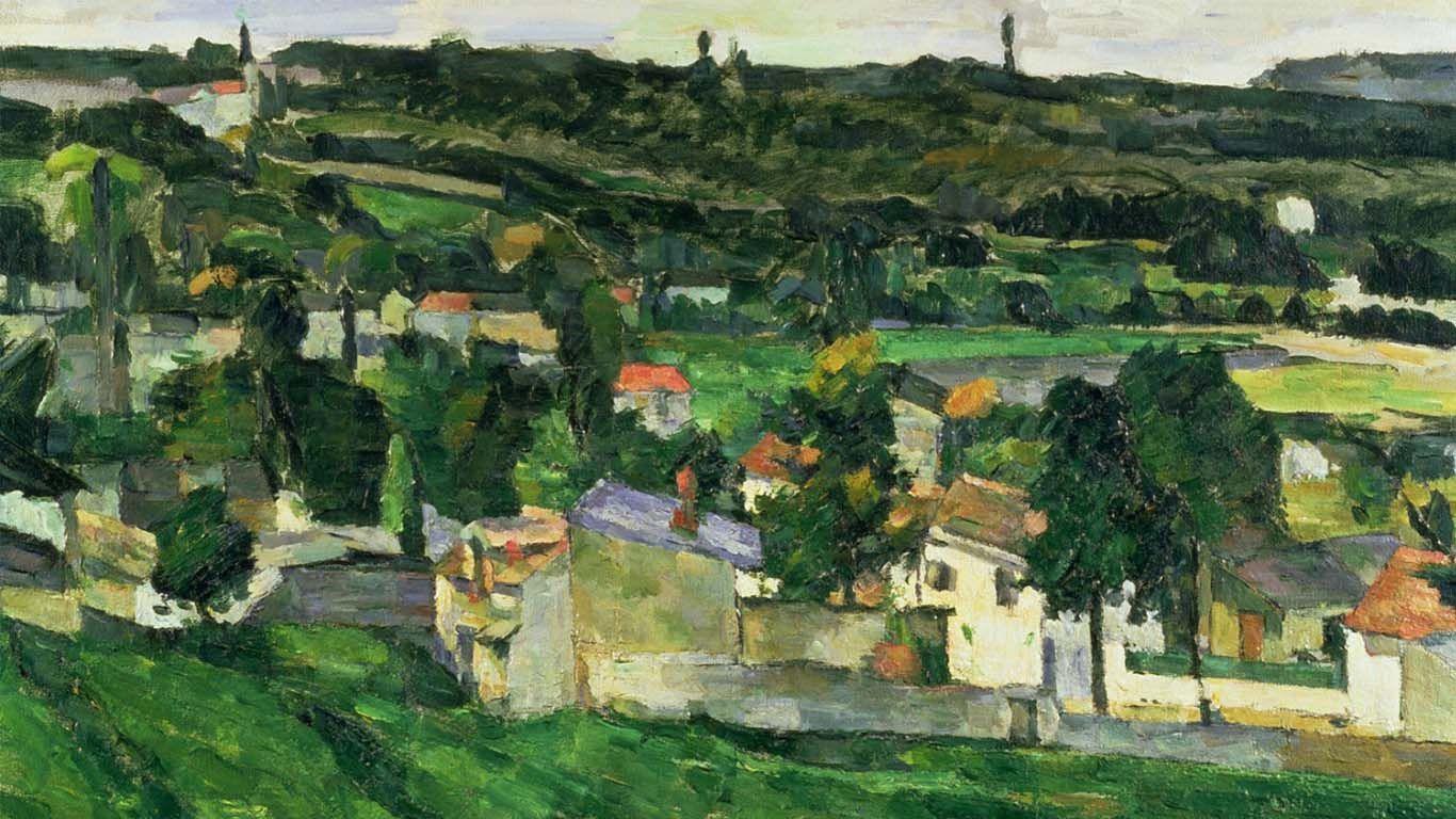 Поль Сезанн. Вид Овер-сюр-Уаз