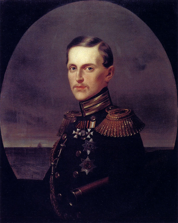 Иван Николаевич Крамской. Портрет Великого князя Константина Николаевича