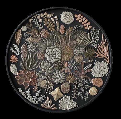 Ninette Kruger. Metal Succulents