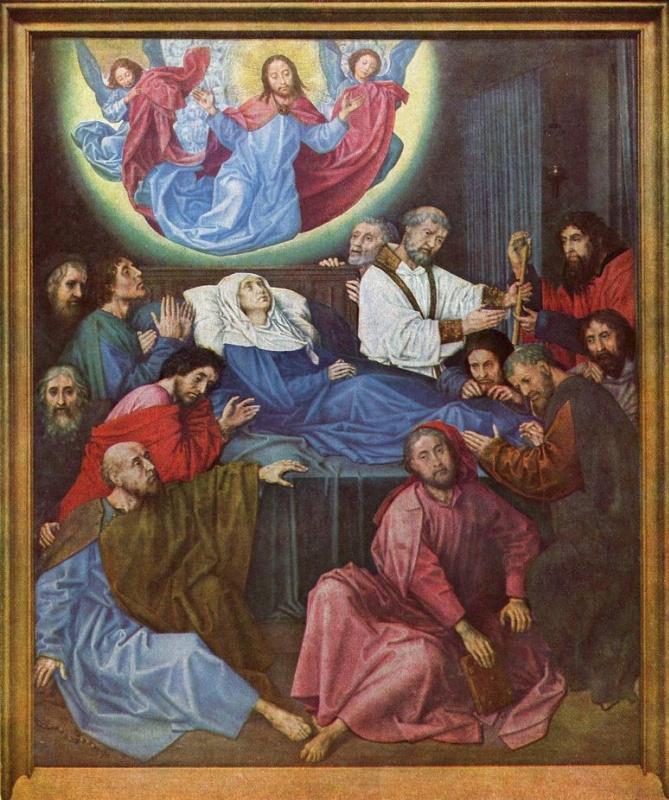 Хуго ван дер Гус. Смерть Марии