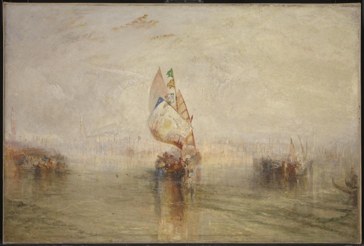 Джозеф Мэллорд Уильям Тёрнер. «Солнце Венеции» уходит в море