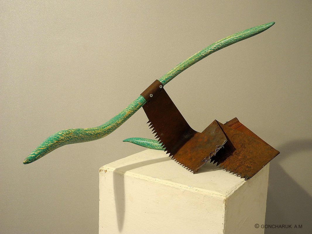 Alexander Mikhailovich Goncharuk. Hand tool \ saw two-handed \ upgrade №2 \ 2 \